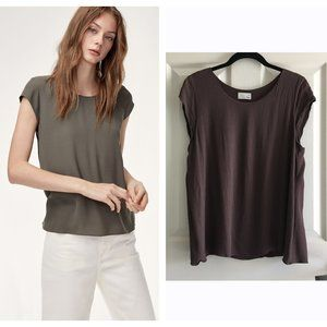 Aritzia Wilfred Free Juliger Blouse